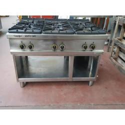 Cucina a gas 6 Fuochi Usata